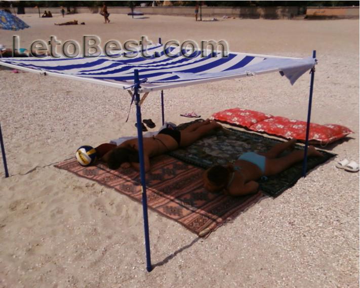 Для пляжа переносной навес от солнца